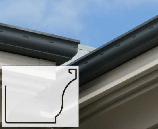 colortuff aluminium gutters