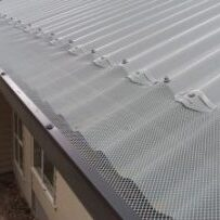 gutters perth mesh used during gutter replacement